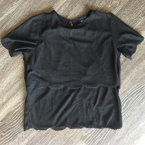 ASOS open back shirt